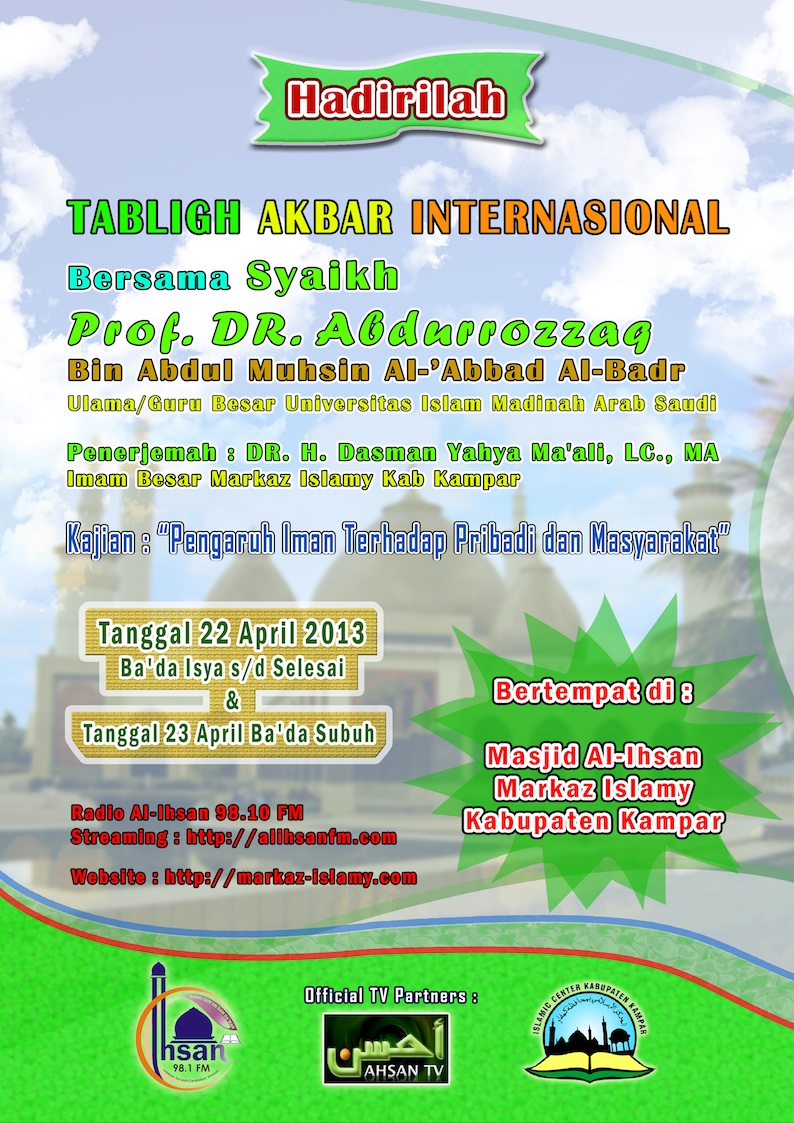 tabligh akbar 22 april 2013